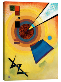 Canvas print  Green and red - Wassily Kandinsky