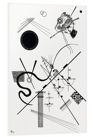 Foam board print  Untitled (drawing 4) - Wassily Kandinsky