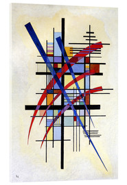 Acrylic glass  Mark with accompaniment - Wassily Kandinsky