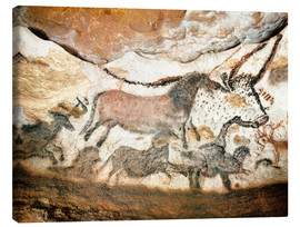 Canvas print  Cave painting, Lascaux