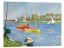Acrylic print  The Seine at Argenteuil - Gustave Caillebotte