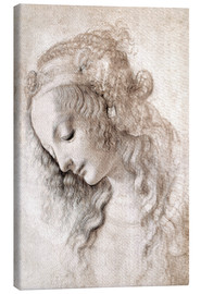 Canvas  Study of Mary Magdalene - Leonardo da Vinci