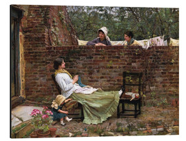 Aluminium print  Chat - John William Waterhouse