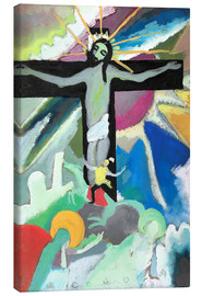 Canvas  crucified Christ - Wassily Kandinsky