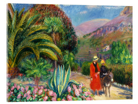 Acrylic print  Nachmittag in der Provence. - William James Glackens