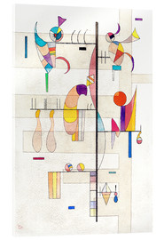 Acrylic glass  distribution - Wassily Kandinsky