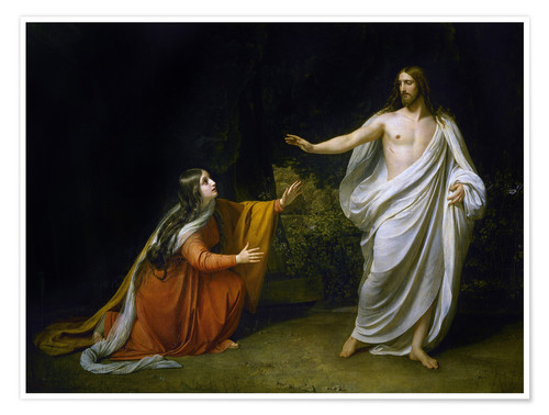 Premium poster Christ's Appearance to Mary Magdalene after the Resurrection