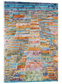 Acrylic print  Main path and Byways - Paul Klee