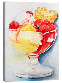 Canvas print  Ice-cream sundae - Maria Földy