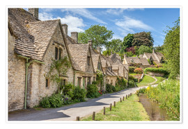 Christian Müringer - Arlington Row in Bibury, Cotswolds, Gloucestershire (England)