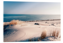 Acrylic print  Sand dunes and the ccean - Sascha Kilmer