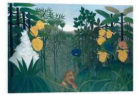 Forex  The meal of the lion - Henri Rousseau