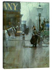 Canvas print  Impressions from London - Anders Leonard Zorn