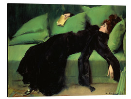 Alu-Dibond  After the Ball - Ramon Casas i Carbo