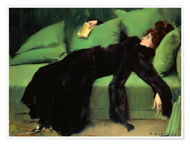 Premium poster  After the ball - Ramon Casas i Carbo