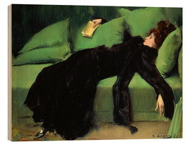 Wood  After the ball - Ramon Casas i Carbo