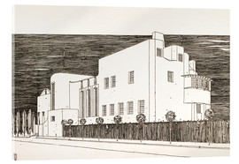 Acrylic print  House of an art lover - Charles Rennie Mackintosh