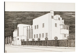 Aluminium print  House of an art lover - Charles Rennie Mackintosh