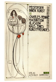 Acrylic glass  House of an art lover: Cover - Charles Rennie Mackintosh
