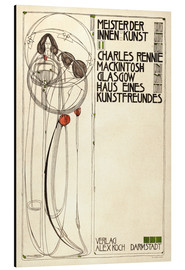 Aluminium print  House of an art lover: Cover - Charles Rennie Mackintosh