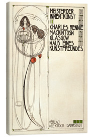 Canvas print  House of an art lover: Cover - Charles Rennie Mackintosh