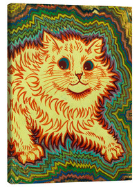 Canvas print  Electric Cat - Louis Wain