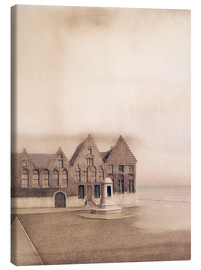 Canvas print  The abandoned town - Fernand Khnopff