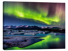 Canvas print  Northern Lights in Iceland - Sascha Kilmer