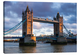 Canvas print  Tower Bridge in London - Walter Bibikow
