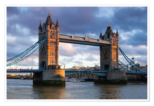 Premium poster Tower Bridge in London