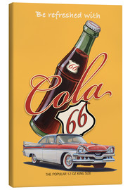 Canvas  Cola 66 Advertising - Georg Huber