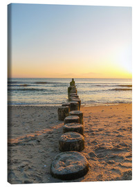 Canvas print  Usedom at dawn - Martin Wasilewski