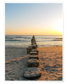 Premium poster Usedom at dawn