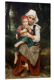 Forex  Breton Brother and Sister - William Adolphe Bouguereau