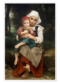 Poster Breton Brother and Sister