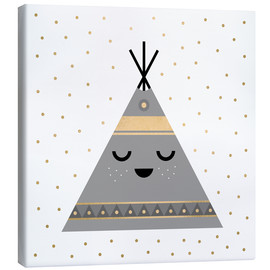 Canvas print  Little tipi - Elisabeth Fredriksson