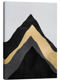 Canvas  Four Mountains - Elisabeth Fredriksson
