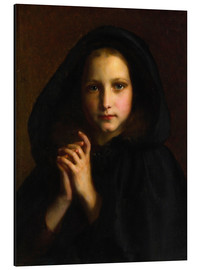 Aluminium print  Girl with a cape - Etienne Adolphe Piot