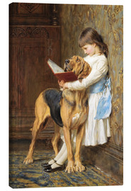 Canvas  Compulsory education - Briton Riviere