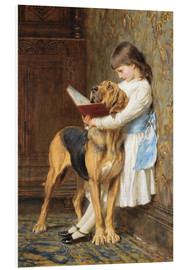 Foam board print  Compulsory education - Briton Riviere