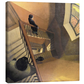 Canvas print  The Staircase - Leonid Terentievich Chupiatov