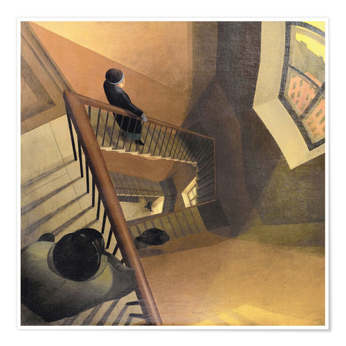 Premium poster The Staircase