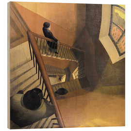 Wood  The Staircase - Leonid Terentievich Chupiatov