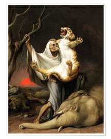 Poster  Power Of Death - William Holbrook Beard