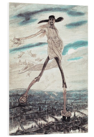 Forex  The Satanic Satan Sowing Tares - Felicien Rops