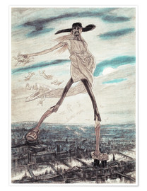 Felicien Rops - The Satanic Satan Sowing Tares