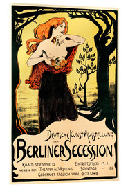 Acrylic glass  Poster Berlin Secession - Ludwig von Hofmann