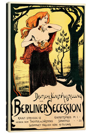 Canvas print  Poster Berlin Secession - Ludwig von Hofmann