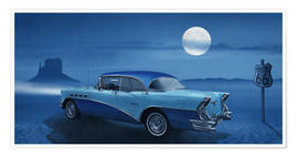 Monika Jüngling - Blue night on Route 66