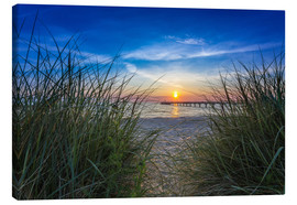 Canvas print  Schönberger beach Baltic dune - Dennis Stracke